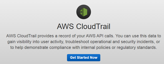 logging s3 api calls with cloudtrail